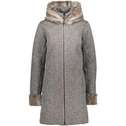 Fleece Wmn  Fix Hood