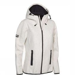 Superdry Softshell Hood Mountain Soft Lichtgrijs Mengeling