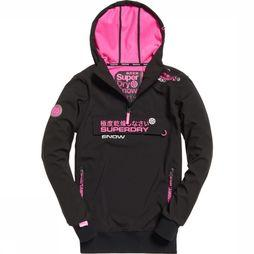 Superdry Windstopper Snow Tech Half Ziphood black