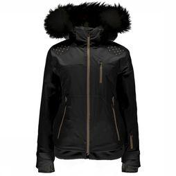 Spyder Coat Luxe Diabla Jacket black