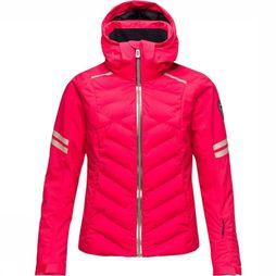 Rossignol Manteau Courbe Rouge