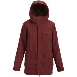 Burton Coat Runestone Bordeaux