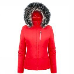 Poivre Blanc Coat Stretch mid red