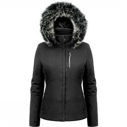 Poivre Blanc Coat Stretch black