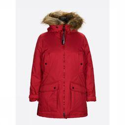 Peak Performance Coat Local red