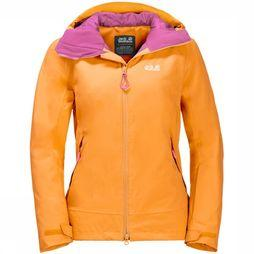 Jack Wolfskin Coat Exolight Peak yellow