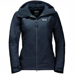 Jack Wolfskin Coat Exolight Peak dark blue