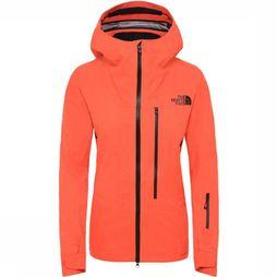 The North Face Coat Freethinker orange