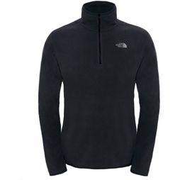The North Face Fleece 100 Glacier 1/4 Zip black