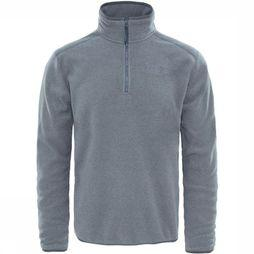 The North Face Fleece 100 Glacier 1/4 Zip Lichtgrijs