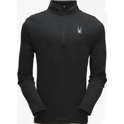 Spyder Fleece Ace Zip T-Neck Zwart