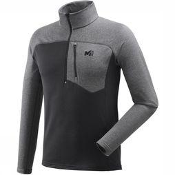 Millet Fleece Technostrech Zip black