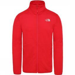 The North Face Fleece Quest Fz red