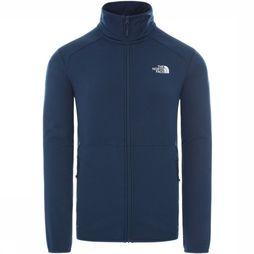 The North Face Polaire Quest Fz Bleu Foncé