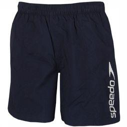 "Speedo Short Scope 16"" Watershort black/white"