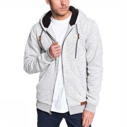 Quiksilver Fleece Keller Sherpa light grey