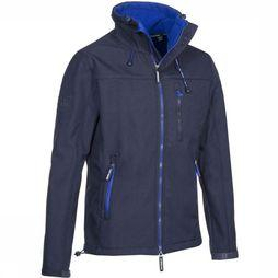 Superdry Softshell Windtrekker dark blue/blue