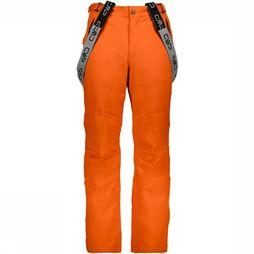 CMP Pantalon De Ski 3W17397N Orange/Noir