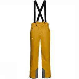 Jack Wolfskin Ski Pants Exolight dark yellow