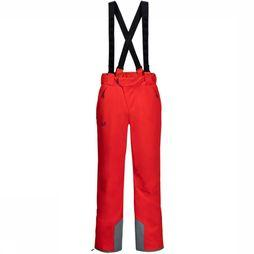 Jack Wolfskin Ski Pants Exolight red