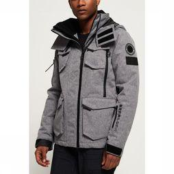 Superdry Coat Ultimate Snow Action dark grey