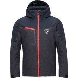 Rossignol Coat Masse Oxford Dark Grey Mixture