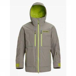 Burton Coat Frostner mid grey/yellow