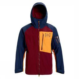 Burton Jas Ak Goretex Cyclic Marineblauw/Bordeaux