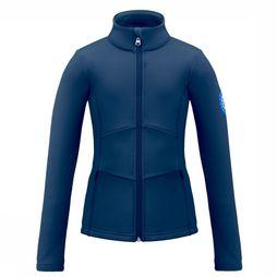 Poivre Blanc Fleece Stretch dark blue