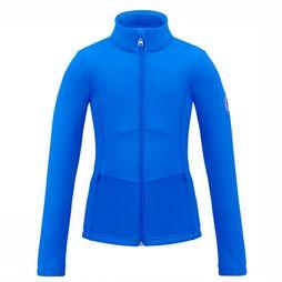 Poivre Blanc Fleece Stretch royal blue