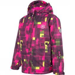 Color Kids Coat Salto Bordeaux/Fuchsia