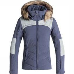 Roxy Coat Bamba Mid Blue/Light Grey Mixture
