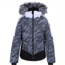 Icepeak Coat Leal Jr black/white