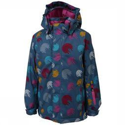 Color Kids Manteau Donja Turquoise/Rose Moyen