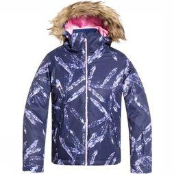 Roxy Coat Jet Ski Girl dark blue/light pink
