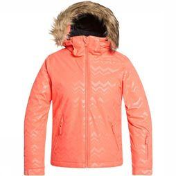 Roxy Coat Jet Ski Solid Girl orange