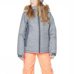 Protest Coat Pronk Jr Light Grey Mixture