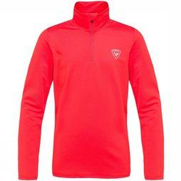Rossignol Polaire 1/2 Zip Warm Strech Rouge