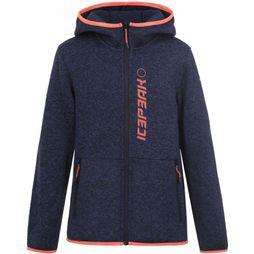 Icepeak Fleece Krum Jr blue/black