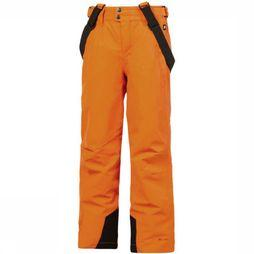 Protest Pantalon De Ski Bork Jr Orange/Rouille
