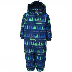 Color Kids Ski Suit Rimah blue/Assortment Geometric