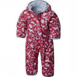 Columbia Ski Suit Snuggly Bunny dark red/light blue