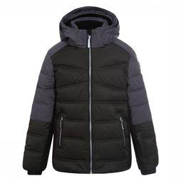 Icepeak Coat Carl dark khaki/black