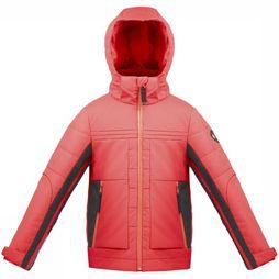 Poivre Blanc Coat W17-0903-JRBY red/black