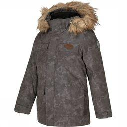 Ziener Coat Anfredl dark grey/Assortment Camouflage