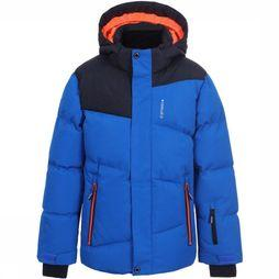 Icepeak Coat Linton Jr royal blue/black