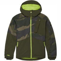O'Neill Coat Pb Alpite dark khaki/Assortment Camouflage