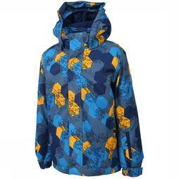Color Kids Manteau Dartwin Bleu Moyen/Jaune