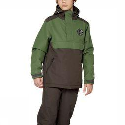 Protest Coat Funpark Jr mid khaki/dark grey