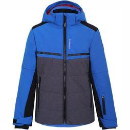 Icepeak Softshell Lambert Jr Light Grey Mixture/Royal Blue